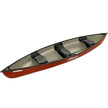 Sun Dolphin Mackinaw Canoe (Hazelnut, 15'6)