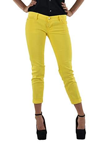 Dsquared2 Pat Jeans Yellow Damen - Größe: 44 - Farbe: Gelb - Neu