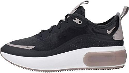 Nike Air Max Dia Zapatos casuales para mujer, Negro (Negro apagado/Pumice/Negro/Blanco Summit), Medium
