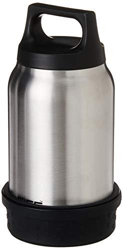 Sigg Food Container SIGG Food Jar, Thermo Lunch Box aus Edelstahl mit Bowl und Besteck, Silber - 0.5 Liter, Silber, 0.5 L, 8592.2000000000007