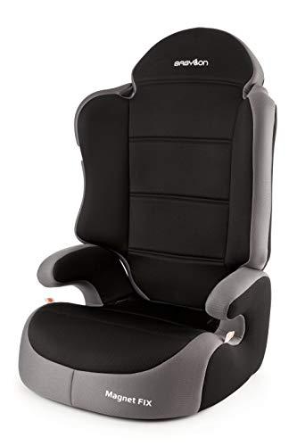 Babylon Magnet Fix Autokindersitz Gruppe 2/3, 15-36kg Kindersitz mit Isofix Autositz Einstellbare Kopfstütze ECE R44/04 Grau