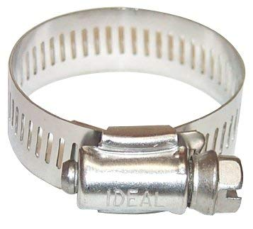 420-6406 - Stainless Steel 201/301, Housing & Band - 64 Series Worm Drive Clamps, Ideal - Pack of 10