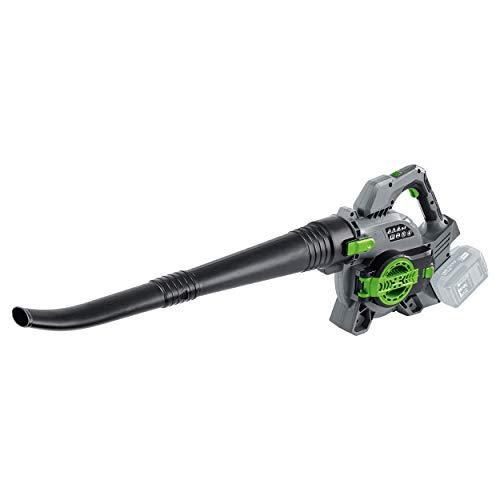 LUX-TOOLS A-LS-2x20/15 A Akku-Laubsauger mit Blas- & Häckselfunktion inkl. 15 l Fangsack | 40V (2x 20V) 3in1 Laubbläser und -sauger mit Zerkleinerer & Zusatz-Handgriff [ohne Akku/ohne Ladegerät]