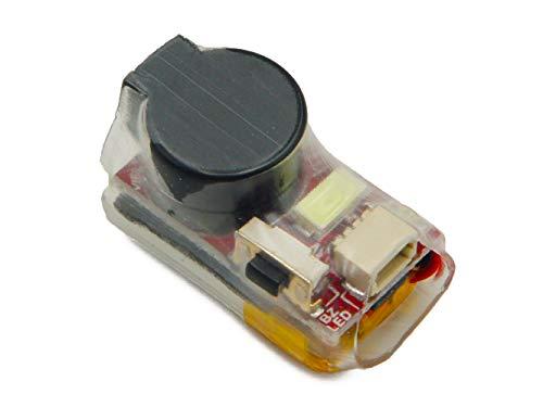 VIFLY Finder V2 Buzzer con Bateria para Drones FPV y Drones de Carreras. Sistema de Alarma en Caso de perdida de dron, Potencia del Buzzer 110dB