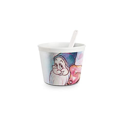 Egan Disney Eisbecher mit Dessertlöffel Die 7 Zwerge ZWERG PIMPEL