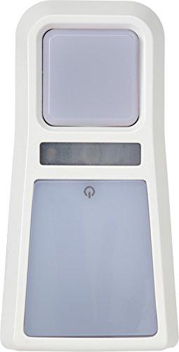 ABUS LED-Nachtlicht JC8660 Julie - Orientierungslicht für Steckdosen in Kinderzimmern - mit Taschenlampen-Funktion (tragbar) - wiederaufladbar - weiß - 73163