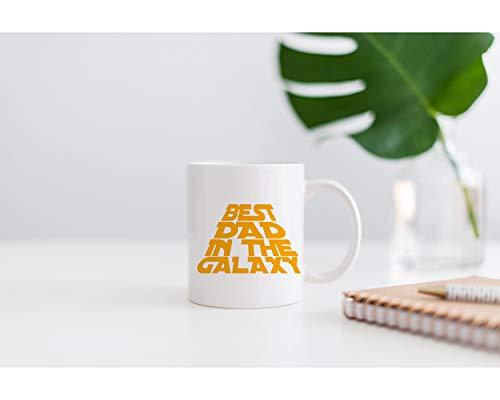Taza de café, regalo para el día del padre, regalo para papá, taza personalizada, regalo para él, regalo para papá, regalo para papá, Star Wars, taza de té, taza de cerámica de 325 ml