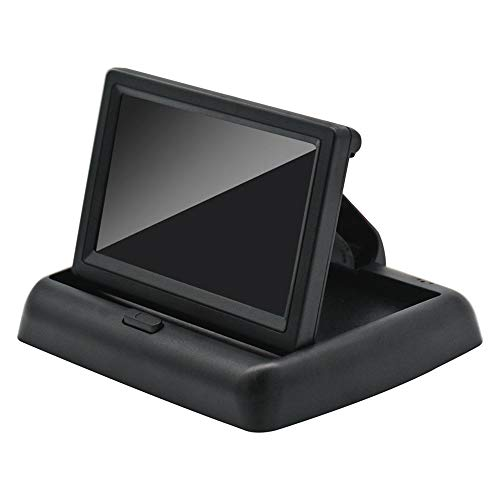 KU Syang Monitor Plegable AutomáTico para Coche de 4,3 Pulgadas, Pantalla LCD,...