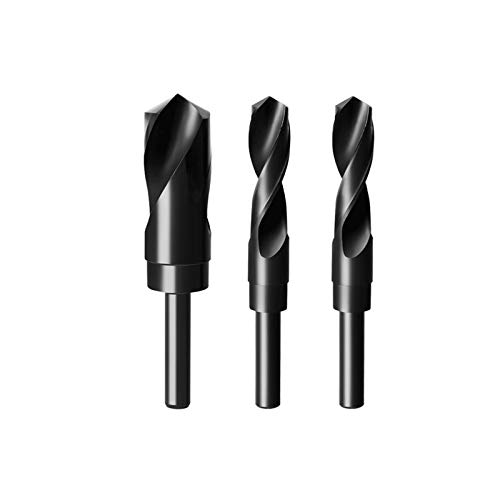 YINGJI Round Shank Drill Twist Drill Stainless Steel Iron Aluminum Metal Woodworking High Speed Steel Alloy Hole Opener(Size:22.5mm)