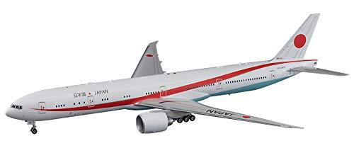 Hasegawa 000023 - Modellino di aereo Boeing 777-300ER, governo giapponese, scala 1:200