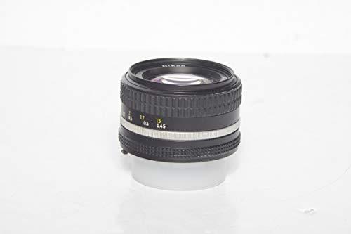 Nikon Nikkor 50mm F1.4 - Objetivo para Nikon, Negro