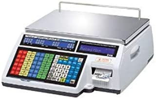 200lb Capacity CAS GP-15200SC GP Series Stainless Steel Enduro General Purpose Bench Scale Checkweigher with Two Full Duplex RS232 Output 0.05lb Readability