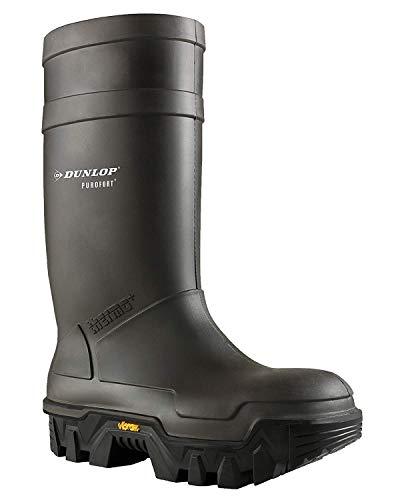 Neu Dunlop Purofort Explorer Unisex PVC Gummistiefel/Sicherheitsgummistiefel - 46 EU / EU 46 UK