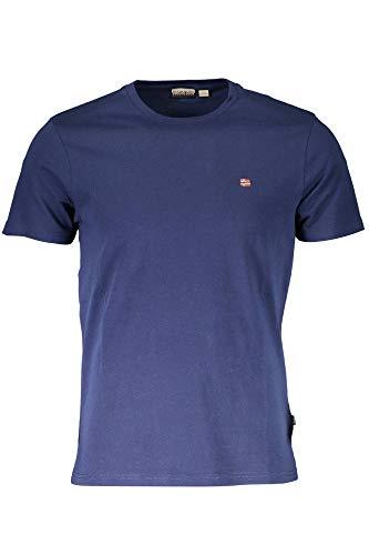 Napapijri SELIOS 2 Camiseta, Azul (Medieval Blue Bb61), S para Hombre