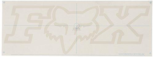 Fox F-head-x Thermo-Aufkleber für Herren, 71,1 cm, Weiß, Einheitsgröße