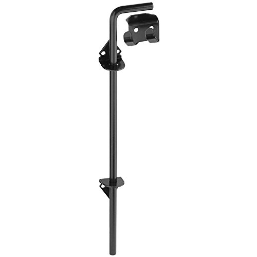 National Hardware N177-188 V835 Cane Bolt in Black,1/2' x 18'