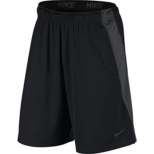 Nike Men's Dry Short Hybrid, Black/Anthracite/Black/Dark Grey, Medium