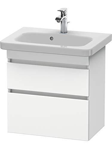 Duravit DuraStyle Waschtisch Waschbecken 610x 368dunkelbraun weiß matt