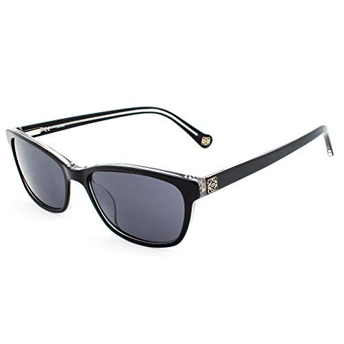 Loewe SLW905540Z32 Gafas, BLACK+CRYSTAL, 54x18x140 para Mujer