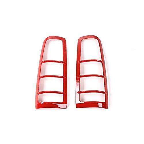 MMI-LX Car Styling luz Trasera Campanas Decoración Ajuste de la Cubierta de la Cola Protectores de Faros Etiqueta Fit ABS for Suzuki Jimny 2007+ by (Color Name : Red)