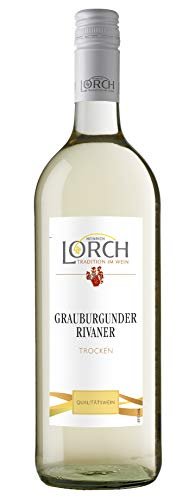 Lorch Grauburgunder Rivaner Qualitätswein Rheinhessen trocken (1 x 1l)