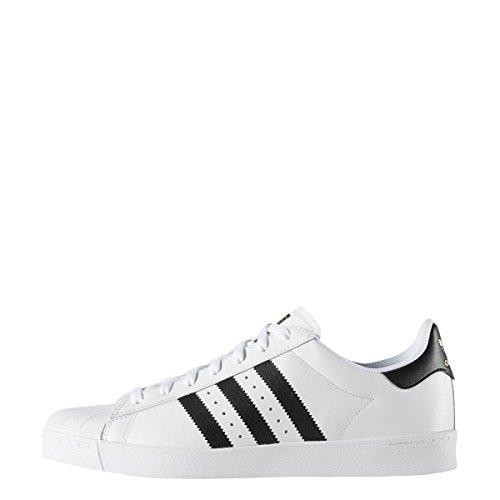 Adidas Superstar Vulc ADV Running White/Core Black/Running White 10uk