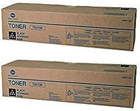 A0D7132 Genuine Konica Minolta Black Toner Cartridge 2 Pack, TN213K, 245000 Page-Yield Per Ctg, Black