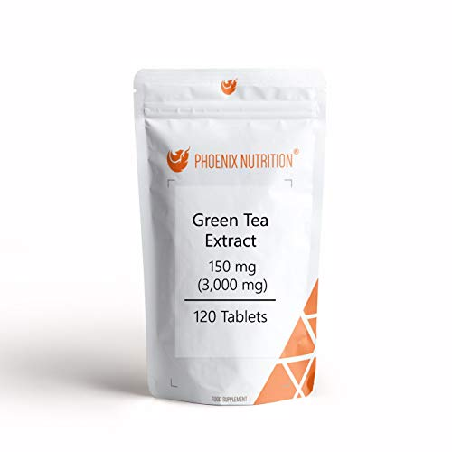 Green Tea Extract 150 mg   3,000mg x 360 Tablets   20:1 Leaf Extract
