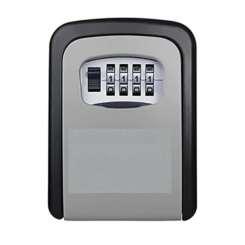Dswe Ideal para el Almacenamiento de Llaves con un Gran Espacio de Almacenamiento Renovación B & b Contraseña Caja de Llaves Caja de Almacenamiento de Llaves de Pared Caja de Seguridad