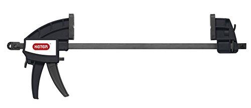 Keter 17182239  Werkzeugbank Master Pro Serie Folding Work Table,  Kunststoff, schwarz / gelb - 5