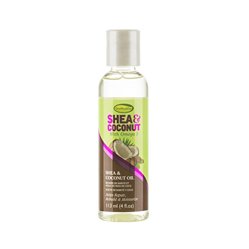 GroHealthy Shea & Coconut Oil (4 oz) by Grohealthy Shea & Coconut