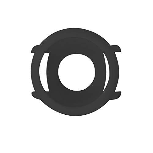 Estuche Protector De Reloj, Chshe ™, Reemplazo Funda De Tpu Suave Cubierta De Marco De Silicona Protectora para Xiaomi Huami Reloj Inteligente Amazfit Pace(Negro)