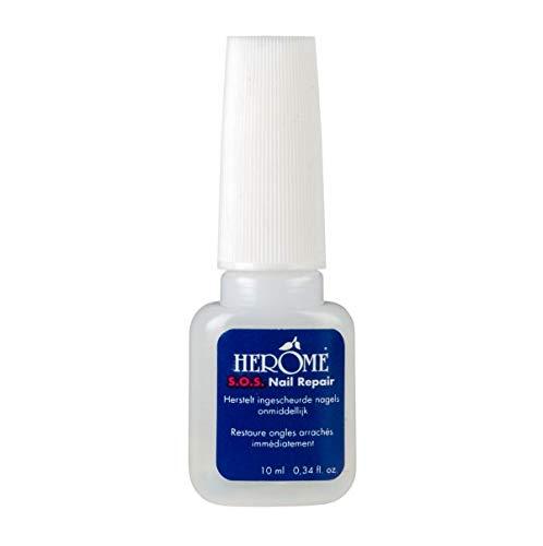 Herome SOS Nagelkleber (SOS Nail Repair) - 10ml - Reparatur Für Eingerissene Nägel