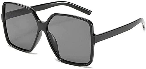 Gafas de sol para hombres Moda Personalidad Gafas de sol Gafas de conducción Caja Grande Clásico Wild Gafas de sol-púrpura