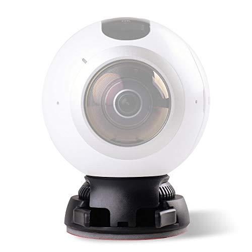 QKP Quick Release Halterung Halter Inklusive Buckle + Flachen Und Gebogenen Basis Klebeband Für Samsung Gear 360 Kamera Für Ricoh Theta S/SC / M15 &