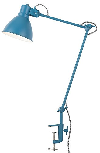 It's about RoMi DERBY Lampe à poser, Fer, E14, 40 W, Bleu