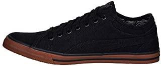 Puma Unisex's Yale Gum Solid Idp Black-Glacier Gr Sneakers