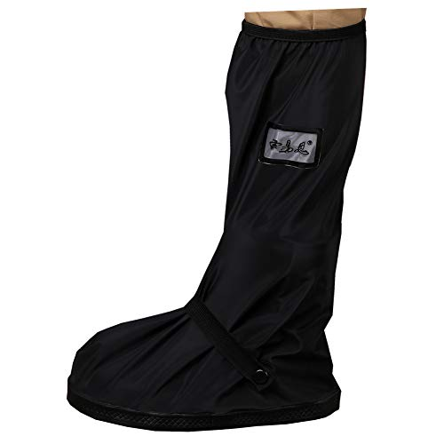 SevenD Cubrezapatos, Reutilizables Impermeables Cubrezapatos Antideslizantes Para Ciclismo Bolos Senderismo Día de Lluvia y Día de Nieve