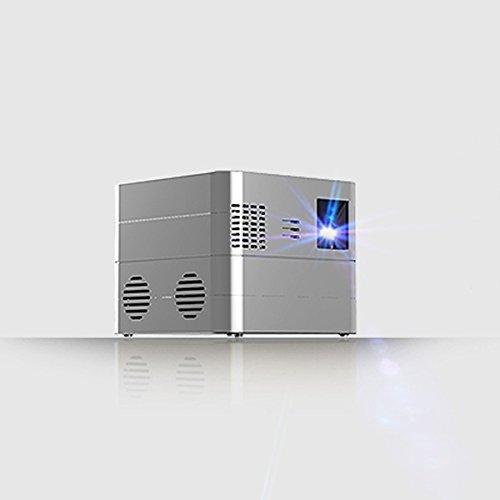 RUXMY Proyector Inalámbrico Elegante Casero del WiFi del Proyector De La Oficina...