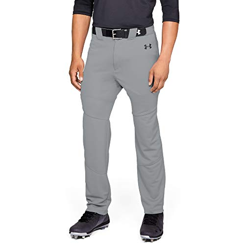 Under Armour Men's Utility Relaxed Baseball Pants, Baseball Gray, X-Large