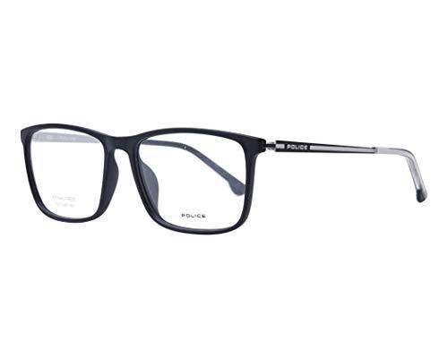 Armação Para Óculos Police Em Plástico, Haste Em Metal