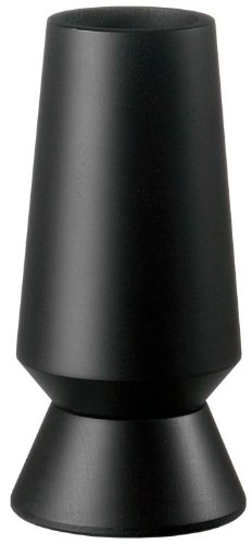 Fletchers' Mill Columbia Pepper Mill, Black Stain - 6 Inch, Adjustable Coarseness Fine to Coarse, MADE IN U.S.A.