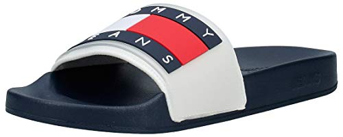 Tommy Jeans Translucent Flag Pool slipper
