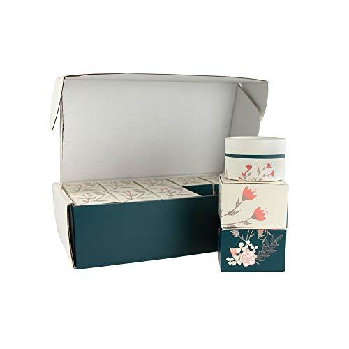 Wachsmann   Hochwertige Papp-Tiegel & Lippenstift-Hülsen   Für nachhaltige DIY-Naturkosmetik   Mit Geschenkverpackung   Lippenpflege- und Creme selber machen (10 g   10 Stück)
