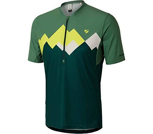 Ziener M Esler Grün, Herren T-Shirt, Größe 48 - Farbe Spruce Green