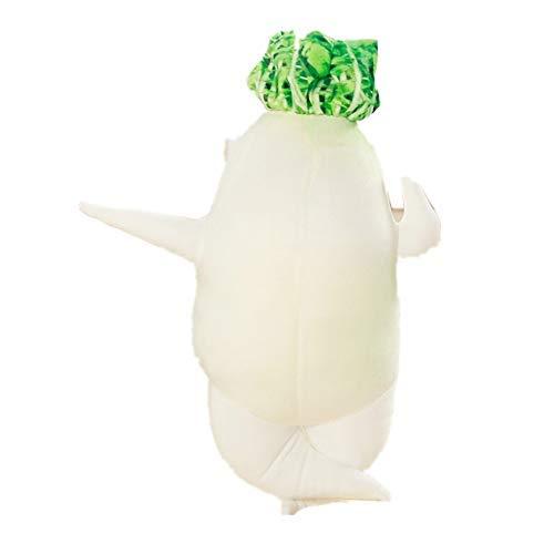 大根抱き枕 ぬいぐるみ もちっとした触感にやみつきぬいぐるみ リアル 抱き枕 おもちゃ 野菜 創造的 面白い 柔らかい 女の子 男の子 彼女 インテリア お誕生日 プレゼント(45cm)
