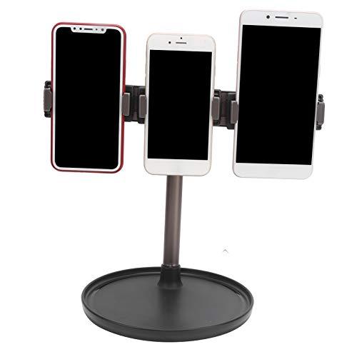 Telefoonhouder, legering verstelbare telefoon tablet beugel met ronde steun voor desktop voor telefoon