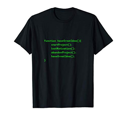 Divertido Programación Computadora Codificador Desarrollador Camiseta