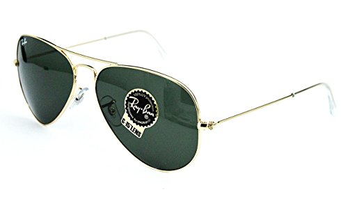 Ray-Ban Aviator Large Sonnenbrille 3025 W3341 gold G-15