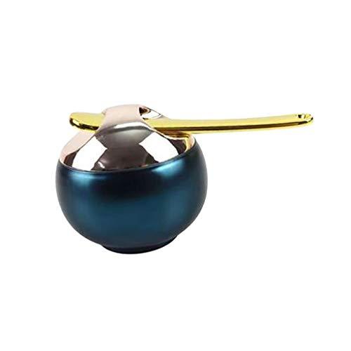 T TOOYFUL 8 Ml Mini Portable Conteneur de Voyage Pot Rondes avec Cuillère